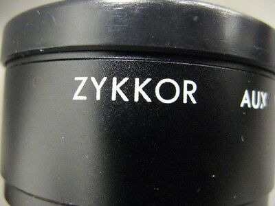 Lot of Zykkor Japan lens with case
