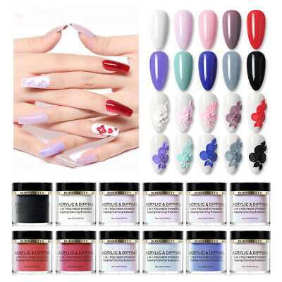 BORN PRETTY 10ml 3 IN 1 Polymer Powder Dipping Acrylic Powder Carving Extension