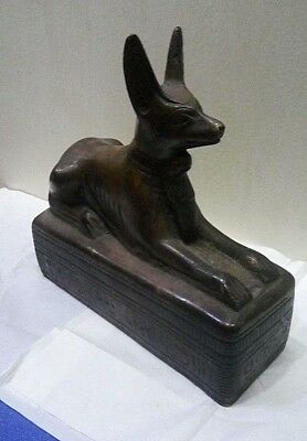 RARE ANCIENT EGYPTIAN ANTIQUE ANUBIS Statue Stone 1752-1500 BC