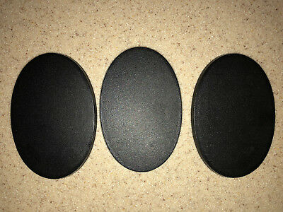 Warhammer 40000 40k Age of Sigmar 105mm x 70mm Oval Bases x3     *72518*