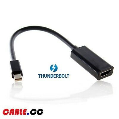 Cablecc Thunderbolt 2 to HDMI Female Adapter Cable with Audio for MacBook 2015
