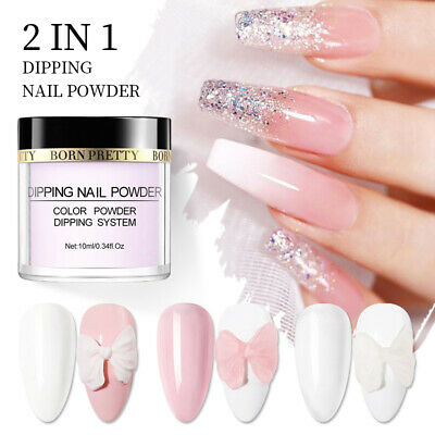 BORN PRETTY 10ml 3 IN 1 Acrylic Dipping Powder Nails Dip System Liquid NO UV Kit