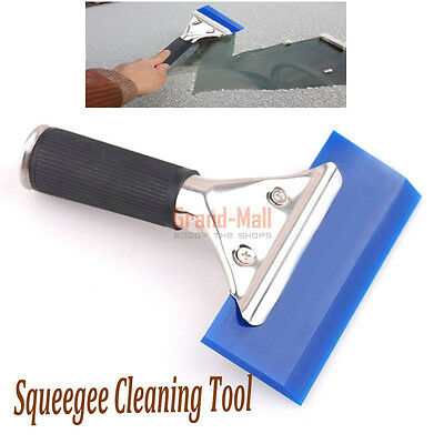 "Car Auto Squeegee Cleaning Tool Window Scraper Wrap Tint Vinyl Film 5"" 125mm"