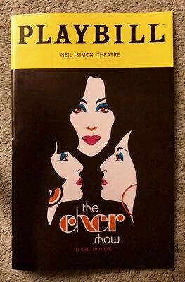 The Cher Show playbill *Opening Night* Broadway - *Brand New* - *Free Flyers*