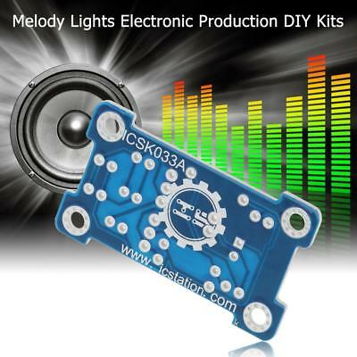 Voice Control 5mm Green LED Melody Lights Electronic Production DIY Kits
