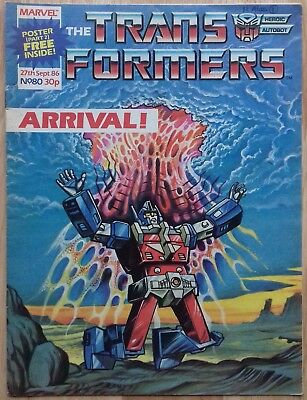 Transformers UK Comic Issue 80