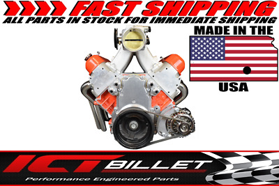 LS Truck Alternator Only Bracket Low Mount LSX Electric Water Pump LS Billet