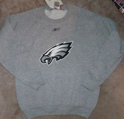 NEW NFL Philadelphia Eagles Crew Sweatshirt Youth Boys L Large 14 16 NEW NWT