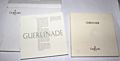 V Rare GUERLINADE PERFUME EXCLUSIVE 1998 HAND FINISHED BOOK IN CARD CASE - MINT