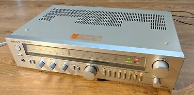 Rare Vintage SONY STR-242L Stereo Integrated Amplifier Amp / Tuner HiFi Separate