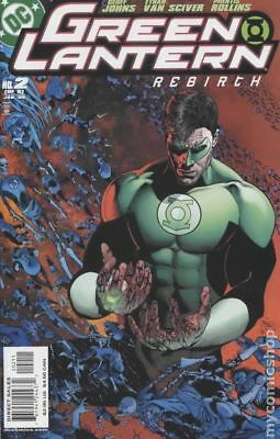Green Lantern Rebirth #2A 2005 Van Sciver Variant FN Stock Image