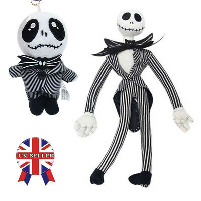 20'' The Nightmare Before Christmas Jack Skellington Plush Doll Kids Toy Gift UK