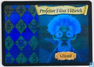 Harry Potter TCG Base Set Professor Filius Flitwick HOLO FOIL 15/116