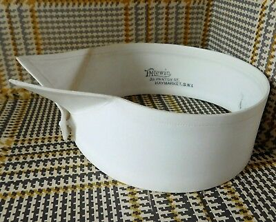 Vintage wing collar early 20th century size 14.5 T M Lewin detachable IMPERFECT