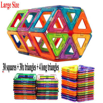 64Pcs Similar Magnetic Building Sets Blocks fancy toys educational Large Size BT