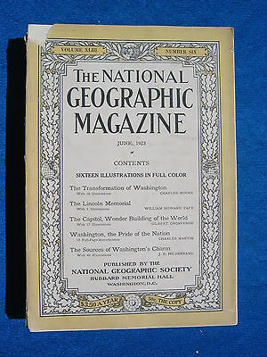 National Geographic Magazine June 1923 Vintage Ads Car Truck Advertising