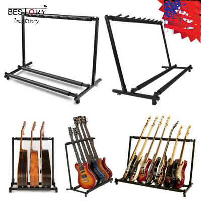 Folding Convenient 3 7 9 Holder Rack Guitar Stand Accessories Christmas Gifts US