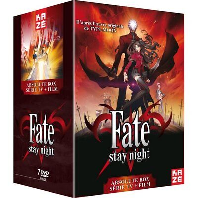 DVD - Fate Stay Night : La Série + Le Film Unlimited Blade Works [Absolute Box]