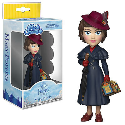 Funko Rock Candy: Mary Poppins Returns - Mary Poppins Collectible Figure, Multic