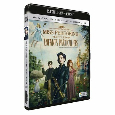 Blu-ray - Miss Peregrine et les Enfants Particuliers [4K Ultra HD + Blu-ray + Di