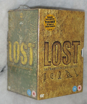Lost: The Complete Seasons 1-6 (1,2,3,4,5,6)  - 35 DVD BOX SET SEALED