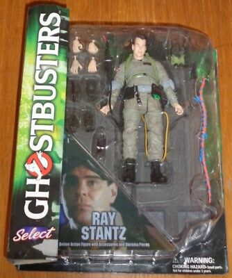 Ghostbusters Ray Stantz Diamond Select Deluxe Action Figure<