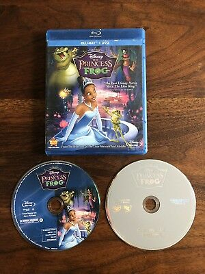 The Princess and the Frog (Blu-ray Disc & DVD 2010) Original Release