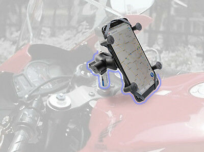 Web Grip Mount Phone GPS Navigation Cradle Holder For HONDA CBR600RR CBR600 F4I