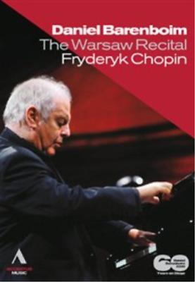 Chopin: The Warsaw Recital (Barenboim) (UK IMPORT) DVD [REGION 2] NEW