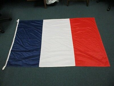"Viva La France!   French Flag    46""  by 72""   Silky"