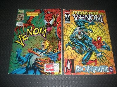 Venom Bimestriel Lot 2 Tomes N°12 + 16 Marvel France Comics 1997 / 1998