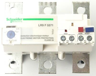 Schneider Electric LR9F5571 Thermal Overload Relay Motor Protection 132-220 Amp
