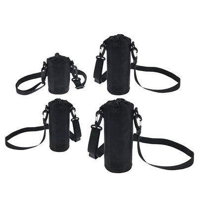 Outdoor Camping Cycling Water Bottle Carrier Cover Bag Holder Strap Pouch