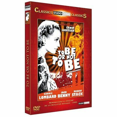 DVD To Be or Not to Be - Jeux dangereux - Carole Lombard,Jack Benny,Ernst Lubits