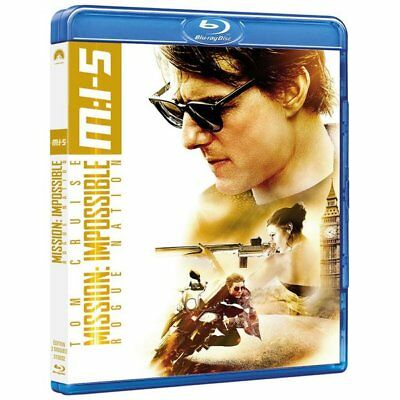 Blu-ray - Mission: Impossible - Rogue Nation - Tom Cruise, Jeremy Renner, Simon
