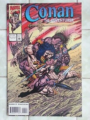 Conan the Adventurer # 4