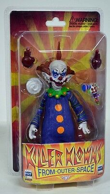 Killer Klowns from Outer Space TINY action figure~Amok~Monstarz~Cult Classic~NIB