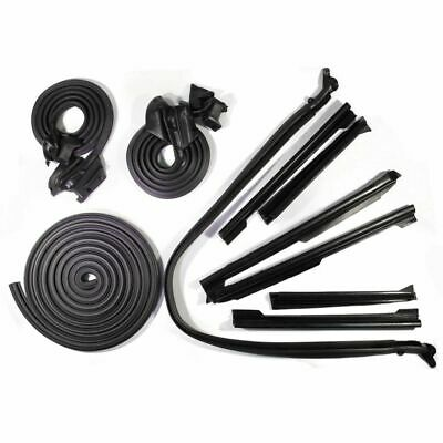 Weatherstrip Seal Kit Set 10 Pc for Skylark Special Malibu 442 GTO Convertible