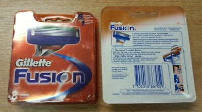 Gillette Fusion power Men's Razor Blades - 8 Blades NEW pack