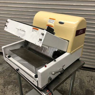 """1/2"""" Bread Slicer Table Top New Cover & Tray Berkel MB 1/2 #9269 Counter Machine"""