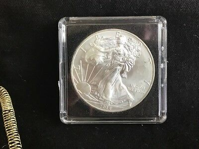 2014 AMERICAN SILVER EAGLE!  Great Strike!! / GREAT VALUE !