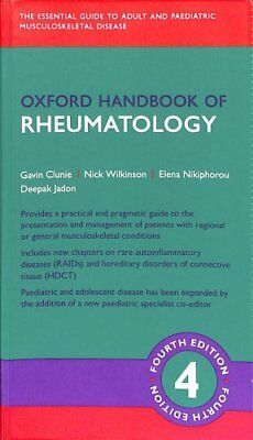 Oxford Handbook of Rheumatology by Rollin Smith (2018, Paperback)