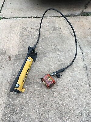 Enerpac Hydralic Hand Pump P392 30 Tons