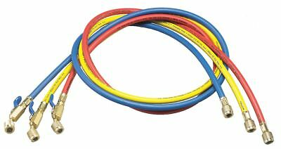 Yellow Jacket Manifold Hose Set, Low Loss, 60 In - 29985