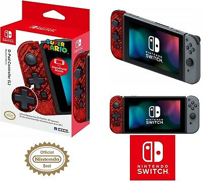 HORI D-Pad Controller (L) (Mario) Officially Licensed - Nintendo Switch