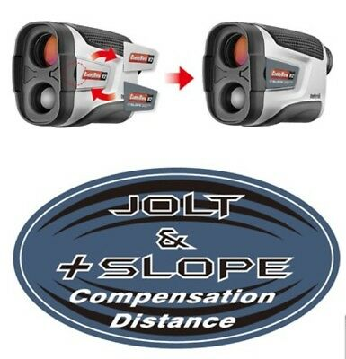 CaddyTek Golf Laser Rangefinder, CaddyView V2 +Slope and Jolt function