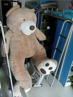 Giant Hung Big Teddy Bear Plush Soft Toys Doll No Cotton Just Cover Gift 130cm