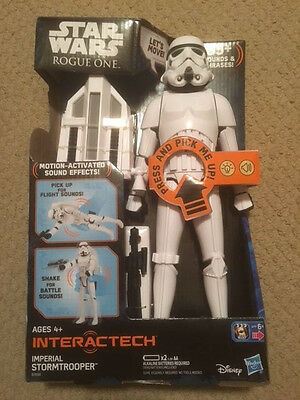 Star Wars Rogue One Interactech Imperial Stormtrooper Nib