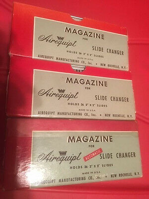Airequipt Magazine For Slide Changer-Lot Of 3