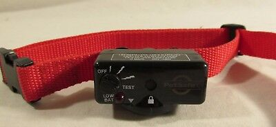 PetSafe Deluxe DBC-100 Bark Training Collar Not Tested Needs Battery